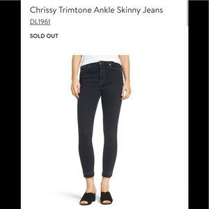 DL1961 Chrissy Trimtone Ankle Skinny Jeans